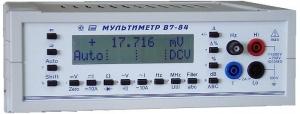 Мультиметр В7-84